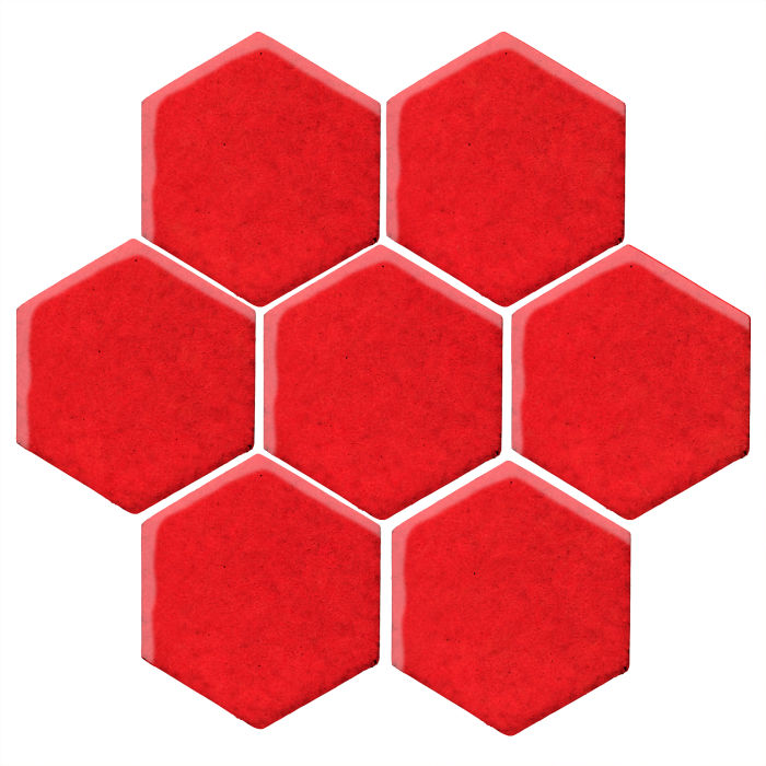 6x6 Studio Field Hexagon Watermelon 7619c