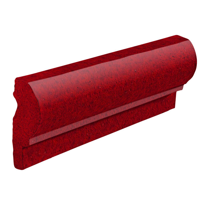 Studio Field Moulding 1 Cadmium Red 202c