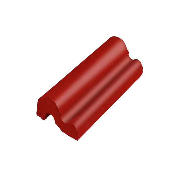 Studio Field Moulding B Brick Red 7624c
