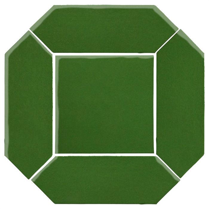 4x12 Studio Field Picket Set Lucky Green 7734c