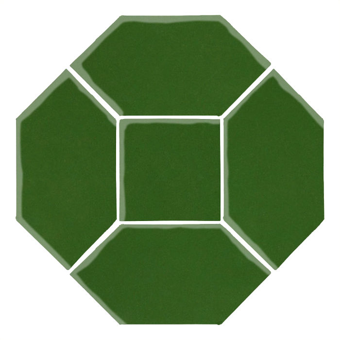 4x8 Studio Field Picket Set Lucky Green 7734c