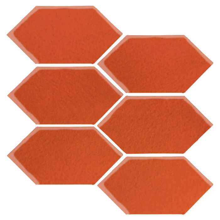 4x8 Studio Field Picket Hazard Orange