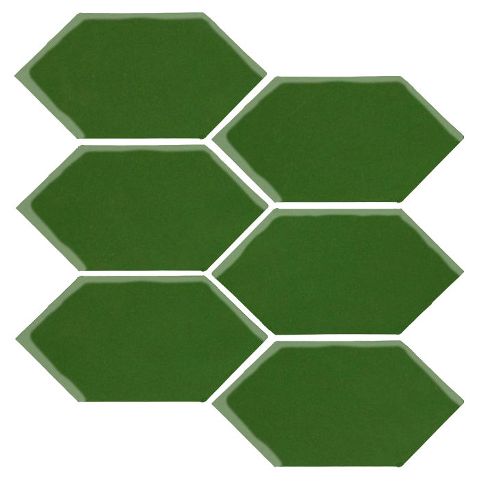 4x8 Studio Field Picket Lucky Green 7734c