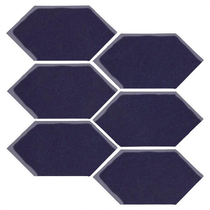 4x8 Studio Field Picket Midnight Blue 2965c