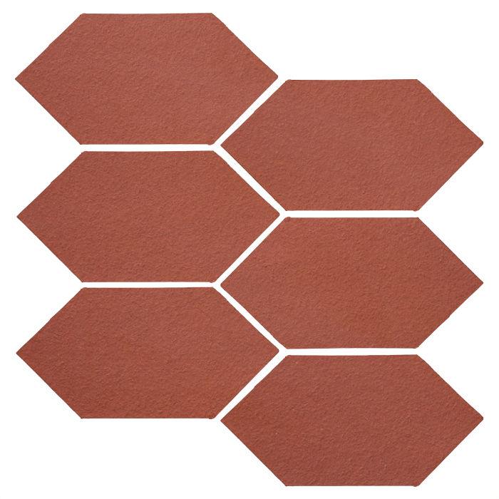 4x8 Studio Field Picket Monrovia Red