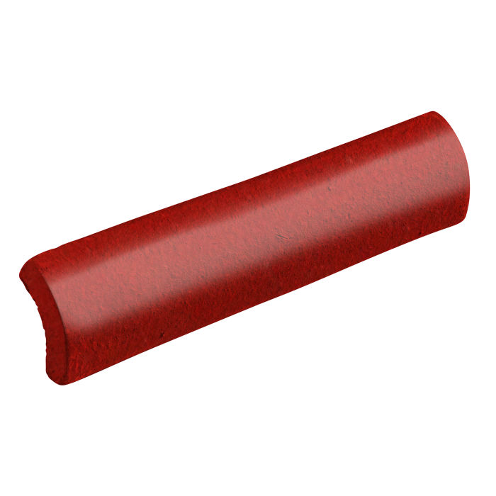 1x6 Studio Field Quarter Round Brick Red 7624c