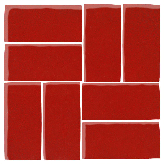 4x8 Studio Field Brick Red 7624c