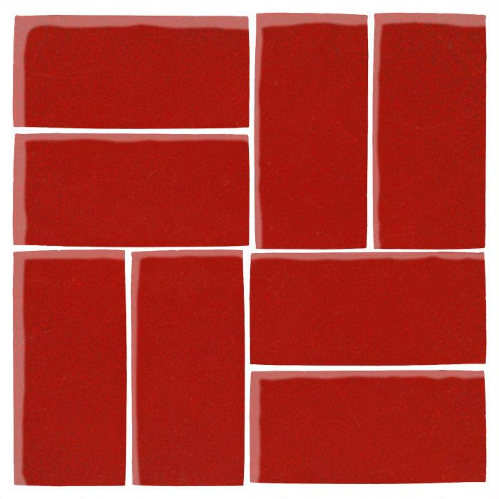 4x8 Studio Field Brick Red 7624c