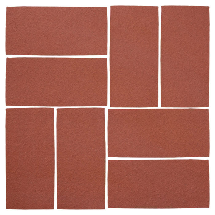 4x8 Studio Field Monrovia Red