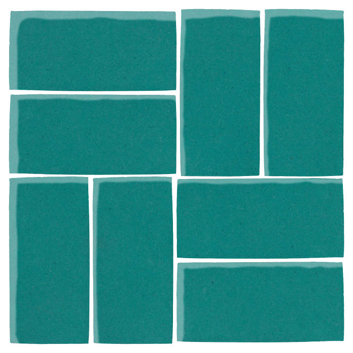 4x8 Studio Field Real Teal 5483c
