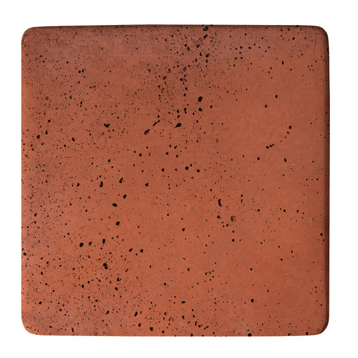 18x18 Super Mission Red Travertine