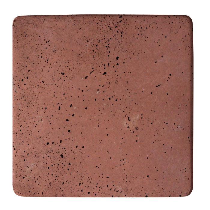 18x18 Super Spanish Inn Red Travertine
