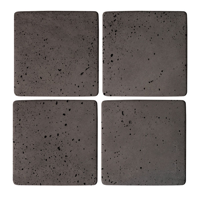 5x5 Super Charcoal Travertine