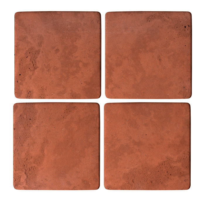 5x5 Super Mission Red Limestone
