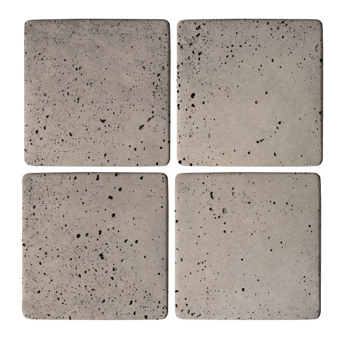 5x5 Super Natural Gray Travertine