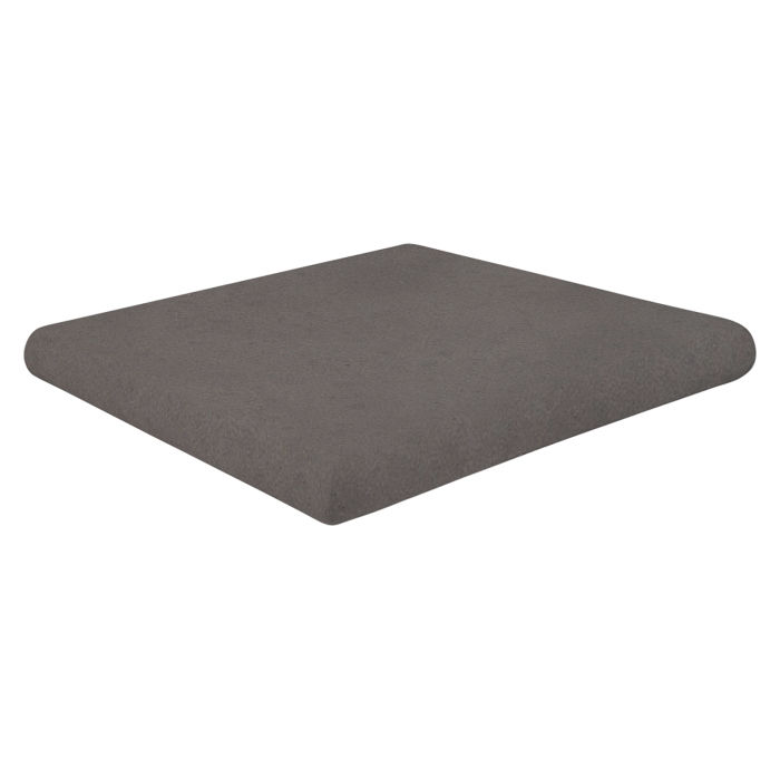 12x12 Super Artillo Stairtread Corner Charcoal