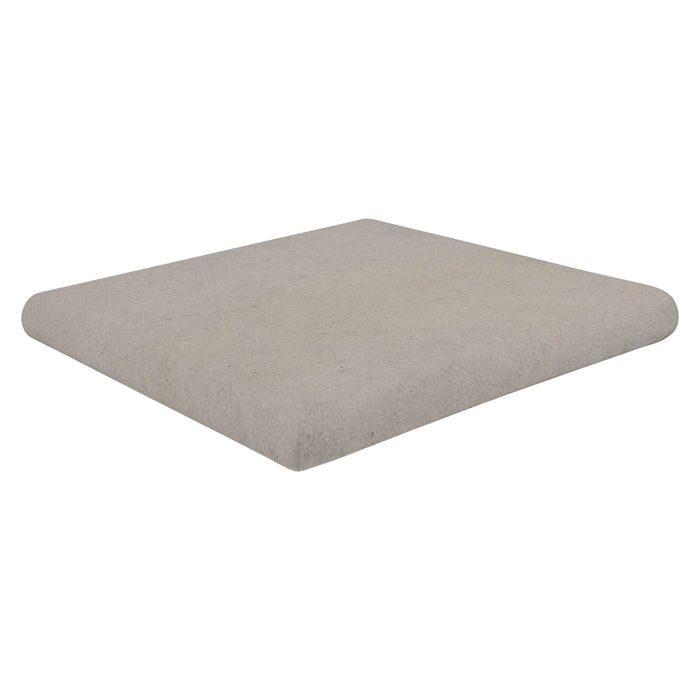 12x12 Super Artillo Stairtread Corner Natural Gray