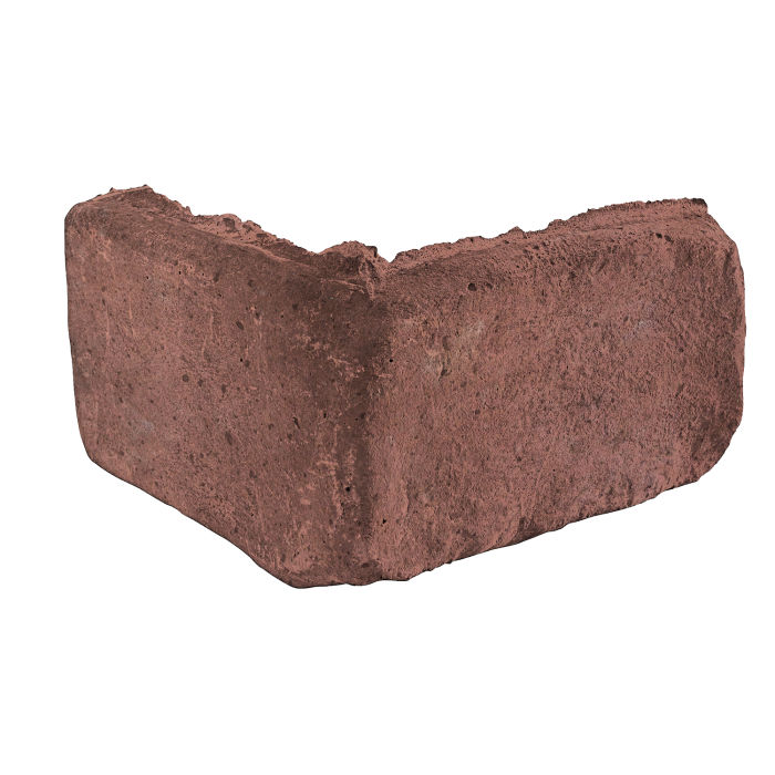 2x4 Antik Corner Spanish Inn Red Travertine