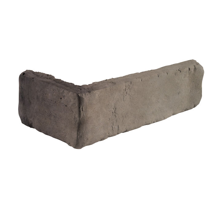 2x8 Antik Corner Antik Gray Limestone