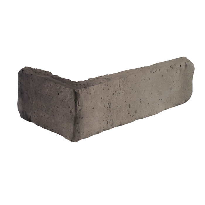2x8 Antik Corner Antik Gray Travertine