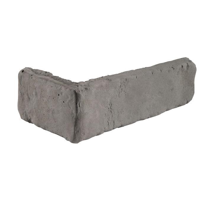 2x8 Antik Corner Sidewalk Gray Limestone