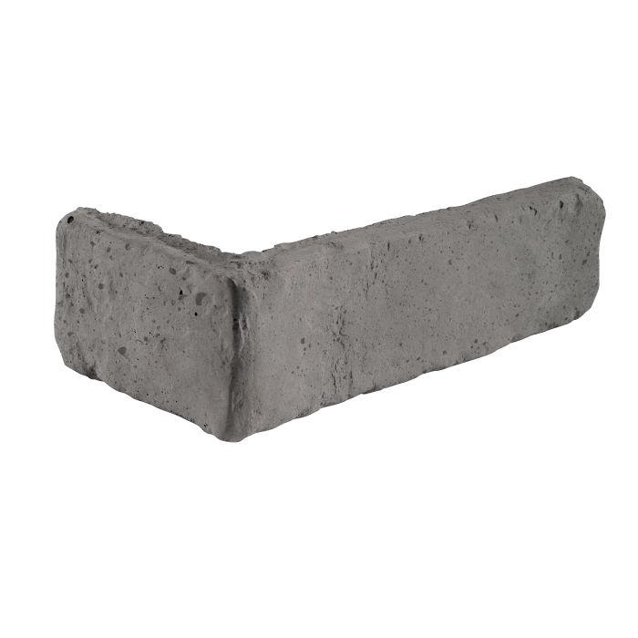 2x8 Antik Corner Sidewalk Gray Luna