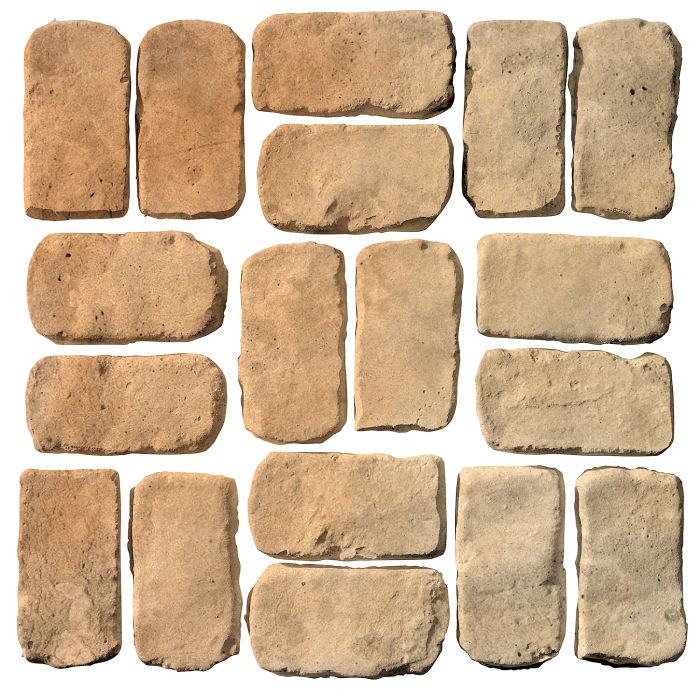 2x4 Antik Hacienda Flash Limestone