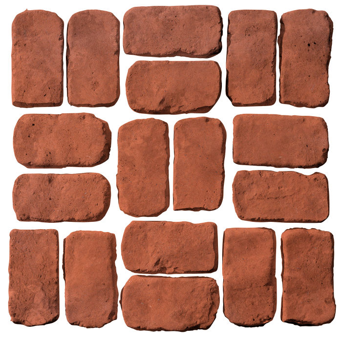 2x4 Antik Mission Red Limestone
