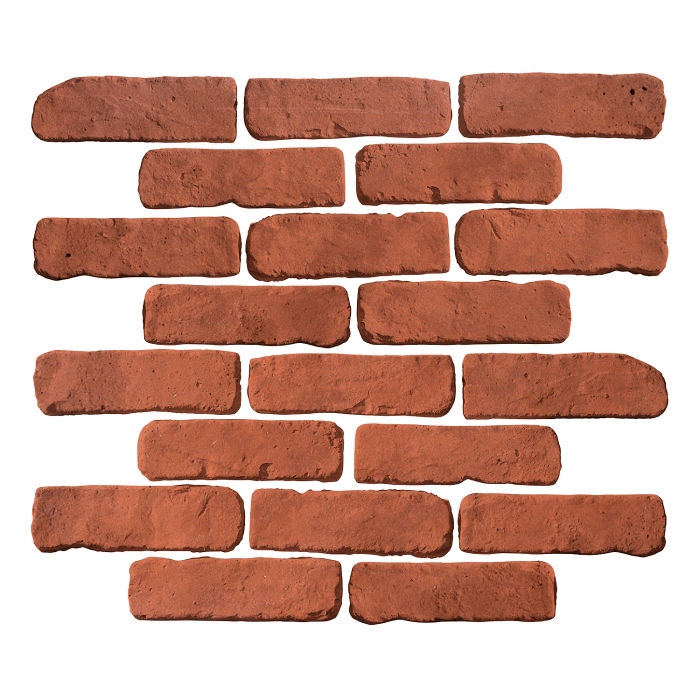 2x8 Antik Mission Red Limestone