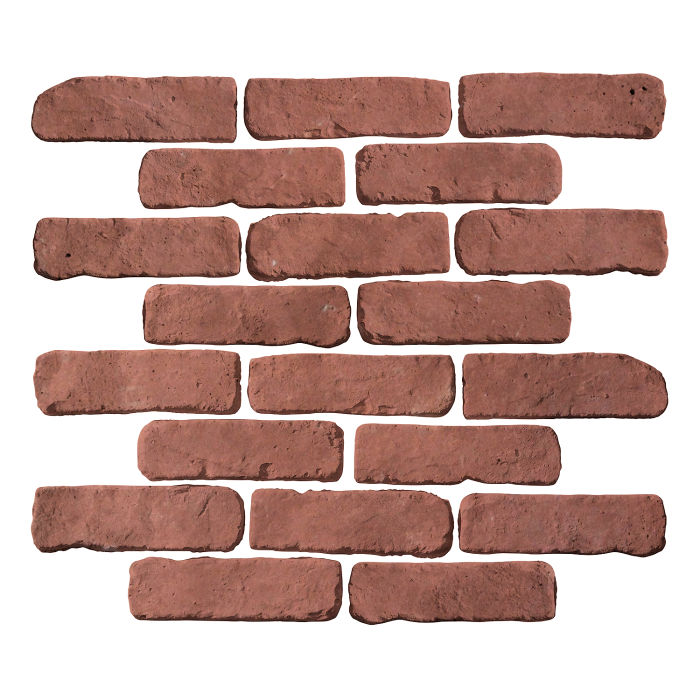 2x8 Antik Spanish Inn Red Limestone
