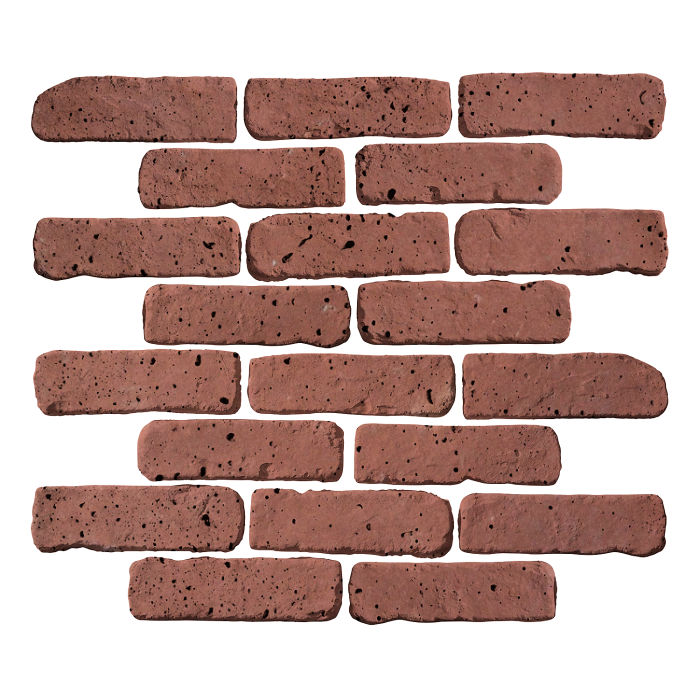 2x8 Antik Spanish Inn Red Travertine