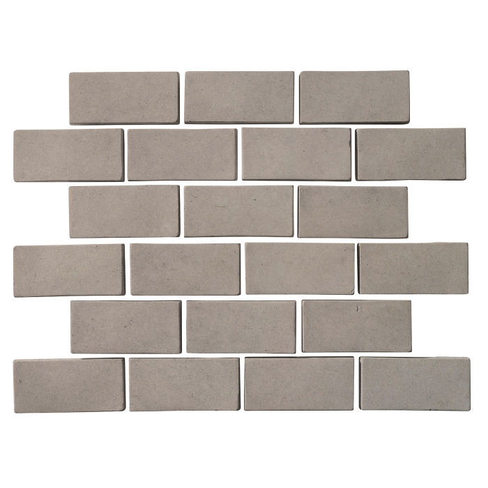 2x4 Artillo Brick Natural Gray
