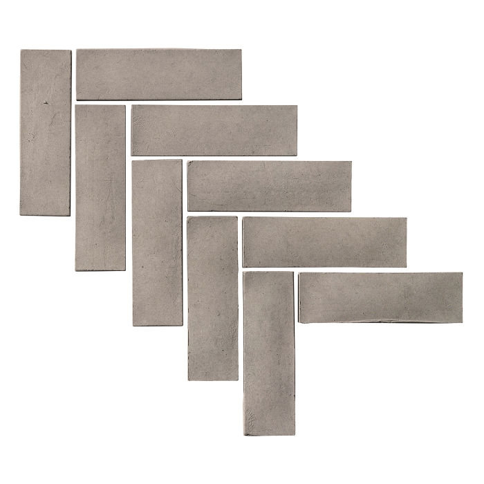 2x8 Artillo Brick Natural Gray