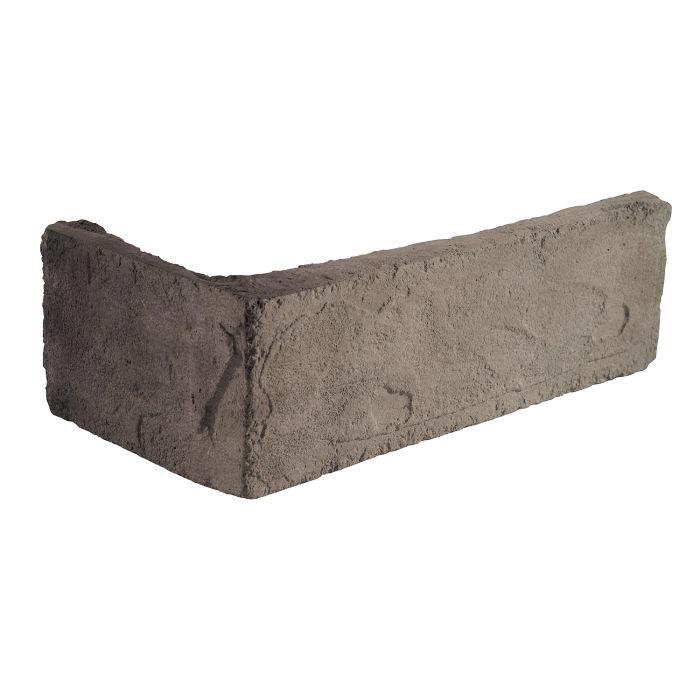 2x8 Standard Corner Antik Gray Limestone