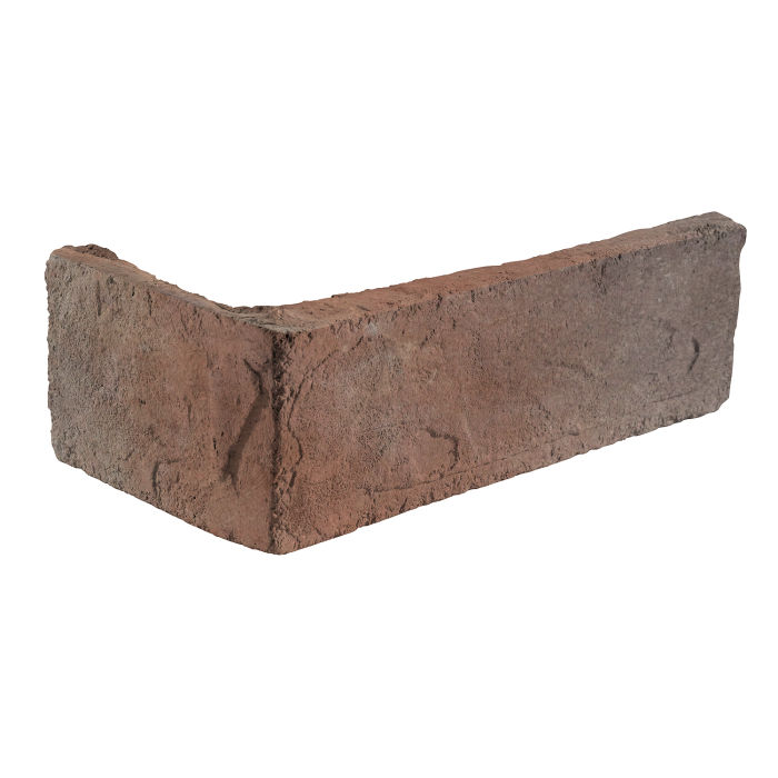 2x8 Standard Corner Beachwood Flash Limestone
