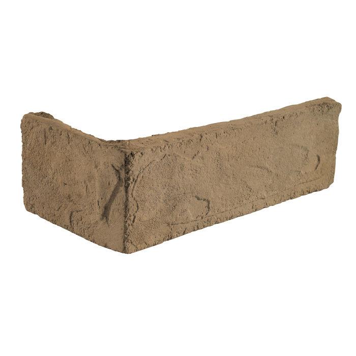 2x8 Standard Corner Caqui Limestone