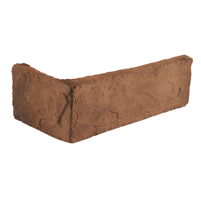 2x8 Standard Corner Cotto Dark Limestone