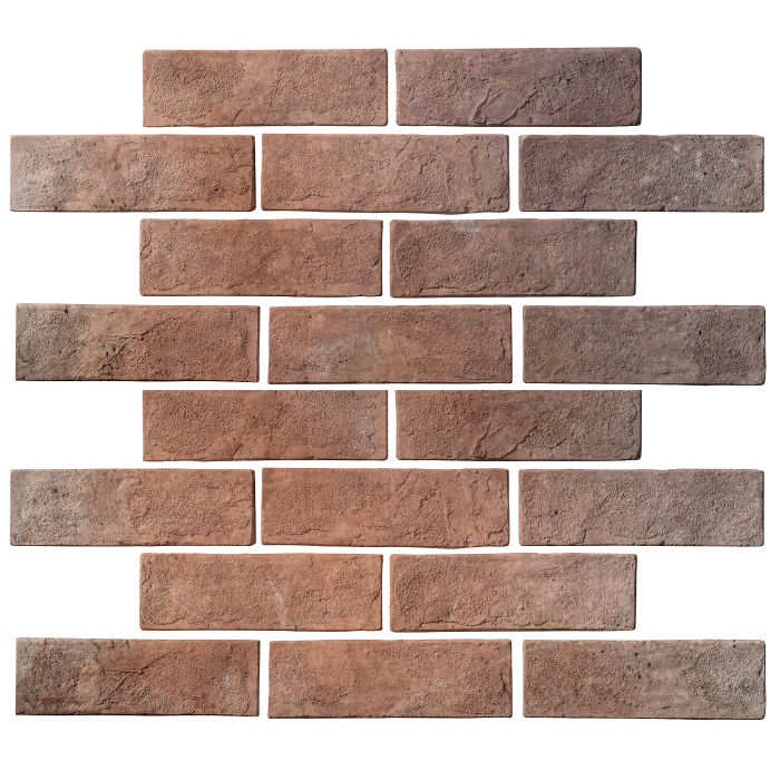 2x8 Standard Beachwood Flash Limestone