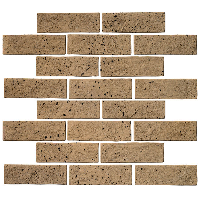 2x8 Standard Caqui Travertine