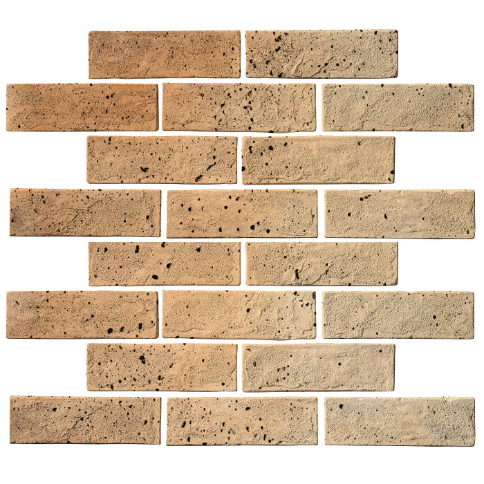 2x8 Standard Hacienda Flash Travertine