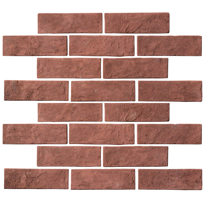 2x8 Standard Spanish Inn Red Limestone
